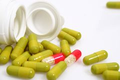 Product of pharmaceutical industry Stock Photo