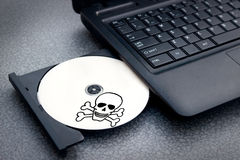 Product of piracy Stock Image
