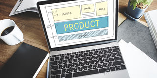 Product Production Manufacturing Supply Distribution Concept Stock Image