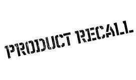Product Recall rubber stamp Royalty Free Stock Image