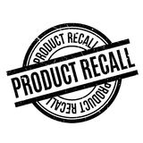 Product Recall rubber stamp Stock Photography