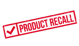 Product Recall rubber stamp Stock Photo
