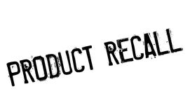 Product Recall rubber stamp Royalty Free Stock Images