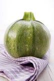Round zucchini Stock Photography