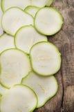 Round zucchini Stock Image
