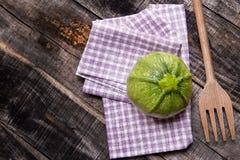 Round zucchini Royalty Free Stock Image
