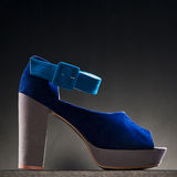 Product shot of high heel shoe Royalty Free Stock Photography