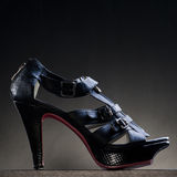 Product shot of high heel shoe Stock Photo