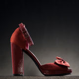 Product shot of high heel shoe Royalty Free Stock Photo