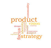 Product strategy Royalty Free Stock Image
