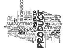 It Is The Product Stupid Word Cloud Concept Royalty Free Stock Photos