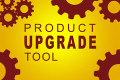 Product Upgrade Tool concept Stock Photography