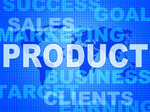 Product Words Represents Made In And Biz Royalty Free Stock Image