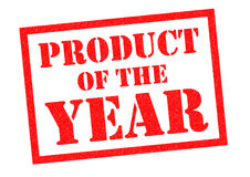 PRODUCT OF THE YEAR Royalty Free Stock Photos