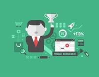 Productbevordering. Digitaal Marketing en Reclame Concept stock illustratie
