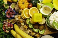Producten het bevatten en hoog in Vitamine C royalty-vrije stock afbeelding