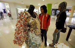 Producten van huisvuil recycling Stock Afbeelding