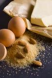 Producten voor baksel Stock Foto's