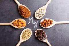 Productenrijken in magnesium Stock Afbeeldingen