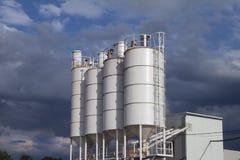 Productie, cement, Royalty-vrije Stock Foto's