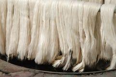 Productie en het weven van tapijten en stoffen Royalty-vrije Stock Foto