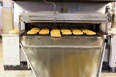 Productie van brood in fabriek Royalty-vrije Stock Foto