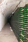 Productie van de klassieke champagne Royalty-vrije Stock Foto