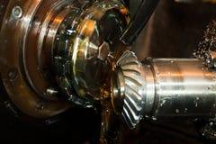 Productie van delen voor tractoren Stock Afbeelding