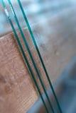 Productie van dubbel-verglaasde vensters Stock Foto's