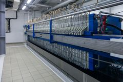 Productie van gespecialiseerde vetten en additieven voor levensmiddelen Bedrijf stock fotografie