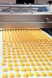 Productie van koekjes stock fotografie