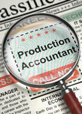 Productieaccountant Join Our Team 3d Stock Afbeeldingen