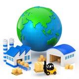 Productieinstallatie Stock Foto