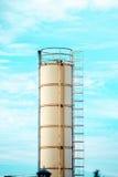 Productiepijp met een ladder Stock Afbeelding