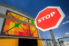 Production écologique métallurgique photographie stock libre de droits
