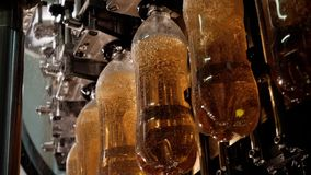 Production and bottling of beverages carbonated drinks, lemonade, soda or beer.
