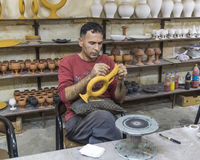 Production ceramics Stock Photo