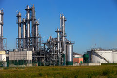 Production chimique Photos stock