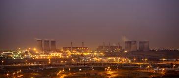 Production d'électricité Images stock