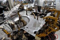 Production d'automobile Image libre de droits