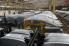 Production d'automobile Image stock