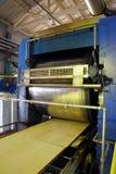 Production de contreplaqué Équipement pour le traitement de bois Image libre de droits