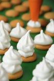 Production de dessert Photos libres de droits