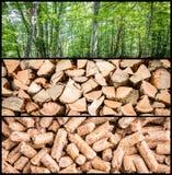 Production de granule Photo stock