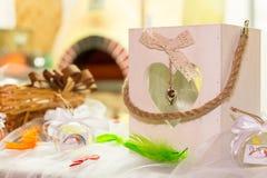 Production de mariage ou d'événement d'arc-en-ciel Images stock