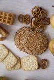 Production de pâtisserie avec les poires 03 Images stock