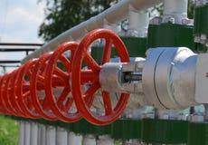 Production de pétrole russe. Photo stock