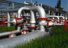 Production de pétrole russe Photos libres de droits