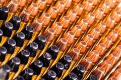 Production des balles de pistolet Photos stock