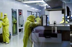 Production des composants électroniques photo stock